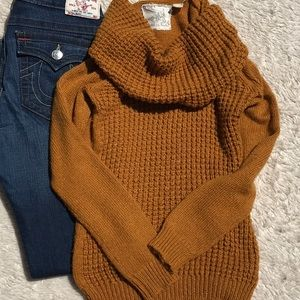 Anthropologie/Angel of the North Sweater